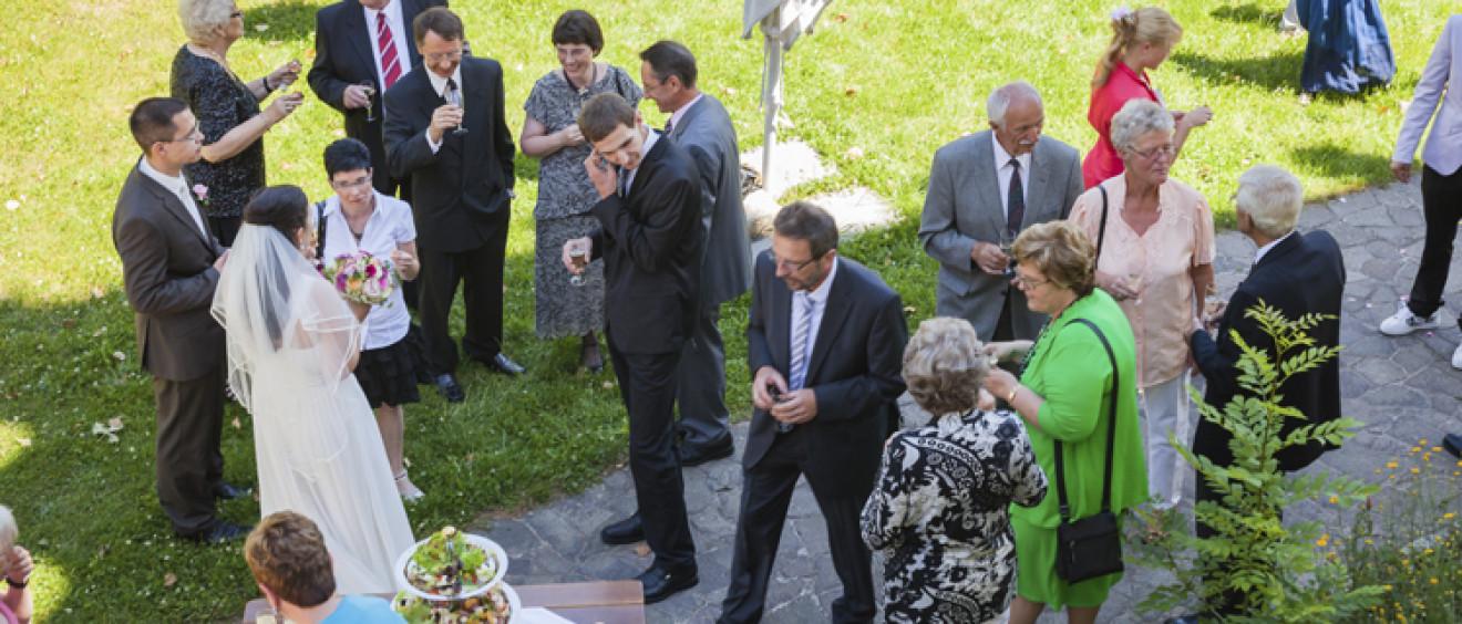 Hochzeit auf Schloss Schleinitz, Lommatzsch, Meißen