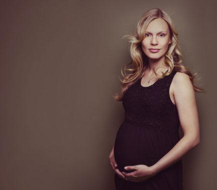 moderne Schwangerschaftsfotografie