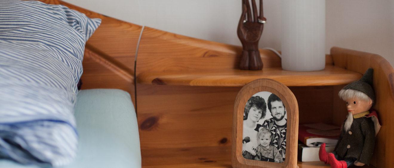 Familienfoto als Erinnerung