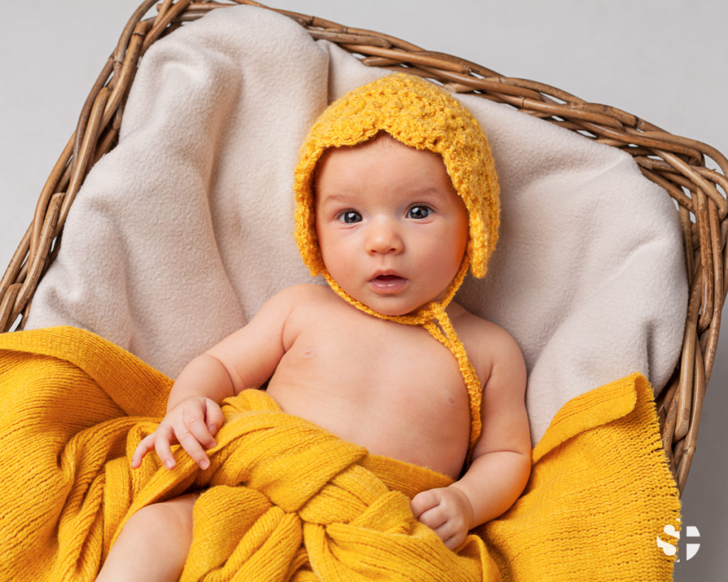 Babyfoto drei Monate