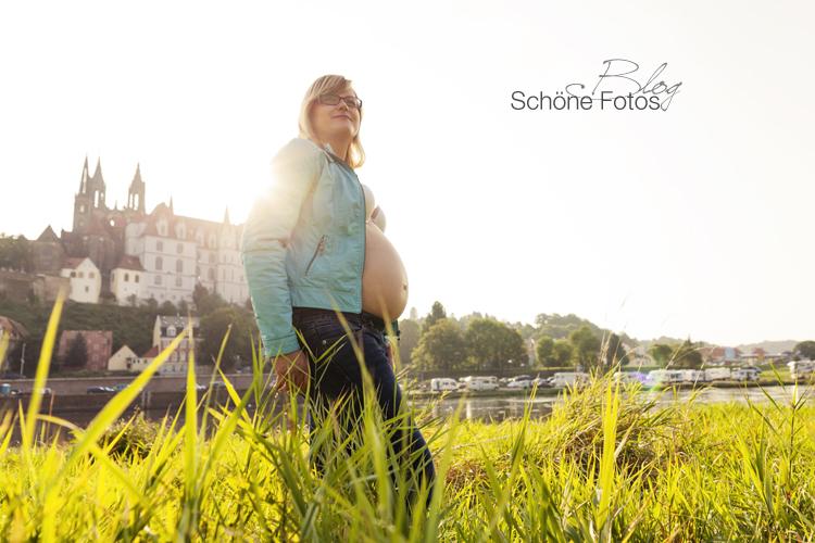 Schwangerschaftsfotografie Meißen, Babybauch