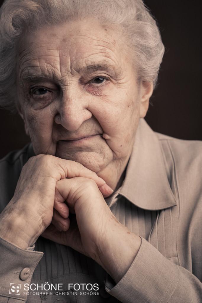 Erinnerungsbild von Oma