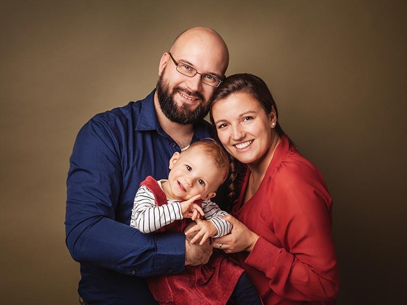 Familie Fotoshooting Nossen