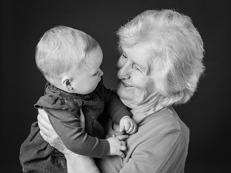 Foto Familie Generationen