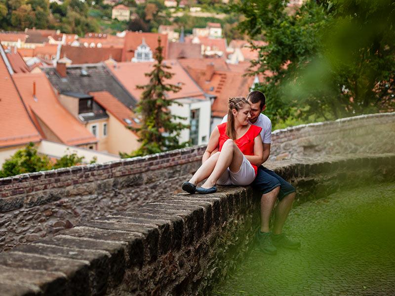 Fotoshooting Paar Altstadt Meißen
