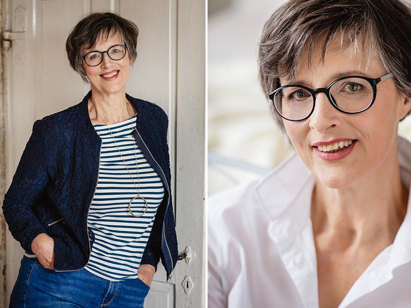 natürliches Portraitfoto Frau Meißen